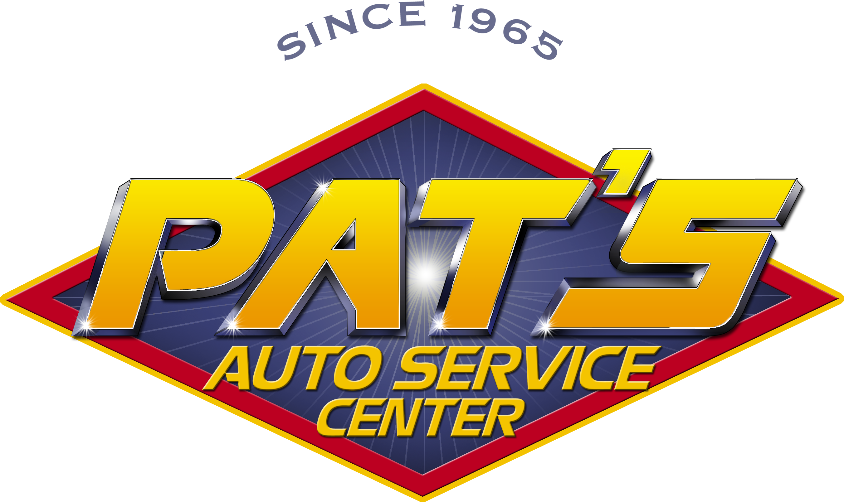 Pats auto service center quality service heroic savings logo xflitez Image collections